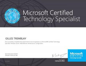 Microsoft Certified Technology Specialist - Windows 2008/2008R2, Network Configuration