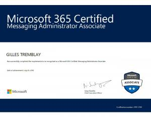 Microsoft 365 Certified Messaging Administrator Associate